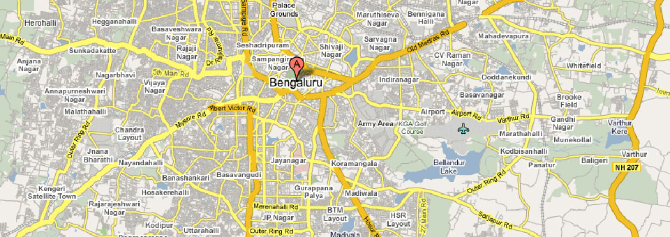 Distance Between Bangalore to other City